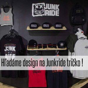 Hľadáme design na Junkride tričko / Súťaž