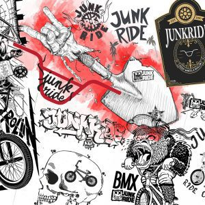 Design na Junkride tričko / Vyhodnotenie