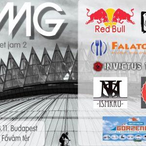 Oh My Grind BMX STREET JAM 2 Budapest / Pozvánka