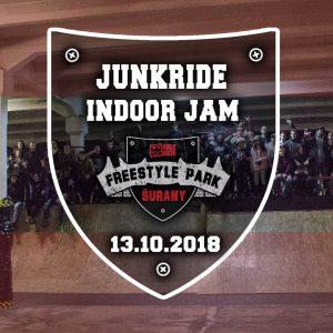 Junkride INDOOR JAM 2018 / Pozvánka