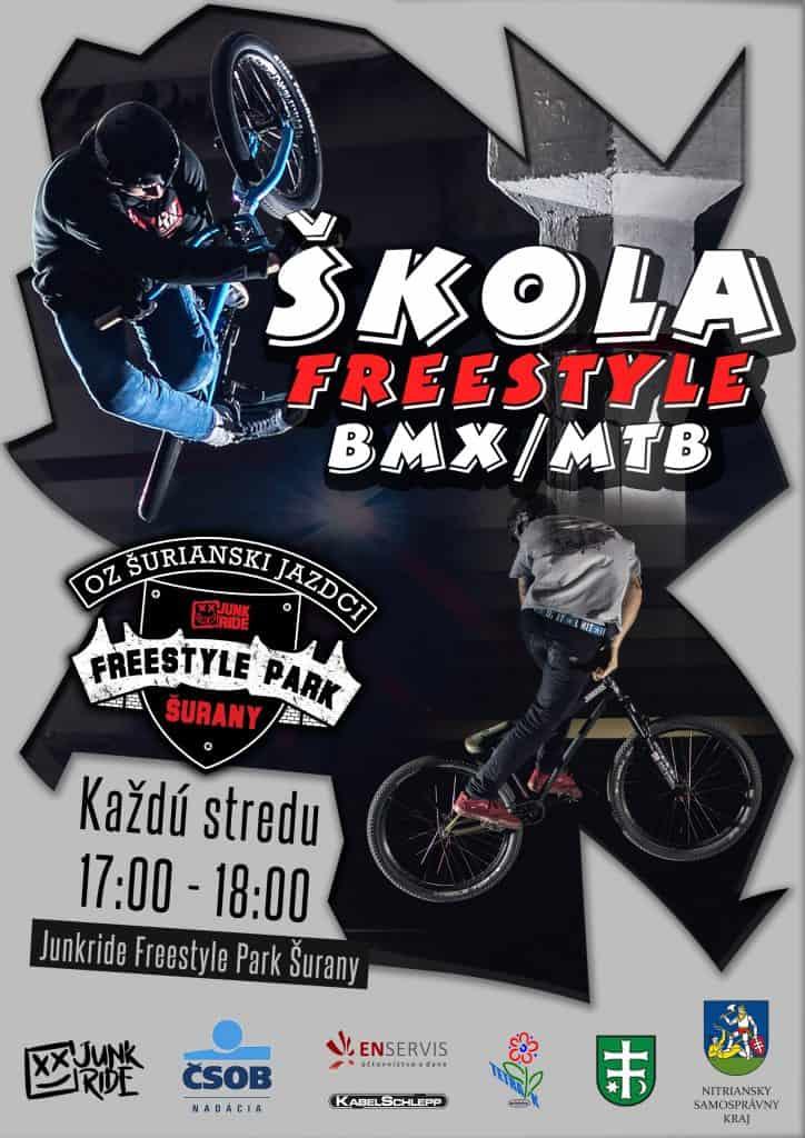 Škola Freestyle BMX / MTB