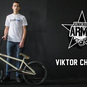 VIKTOR CHRENKO / JUNKRIDE ARMY BIKECHECK + INSTAVIDEO
