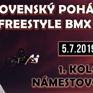 Slovenský Freestyle BMX Pohár 1. kolo Námestovo 2019 / Pozvánka