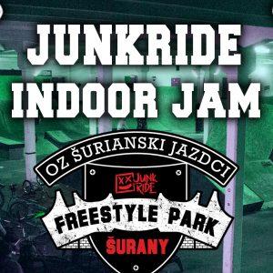 Junkride INDOOR JAM 2019 - Majstrovstvá Slovenska Freestyle BMX / Pozvánka