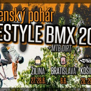 Slovenský Pohár Freestyle BMX/MTB 2020