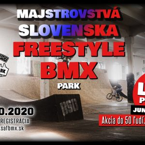 Majstrovstvá Slovenska FREESTYLE BMX 2020 Šurany